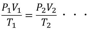 3E機関3 筆記試験問題(10) 〔計算問題〕ボイル・シャルルの法則(2)