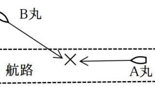 三級海技士(航海) 法規 筆記試験問題 港則法 特定港での航路内での航法(3)